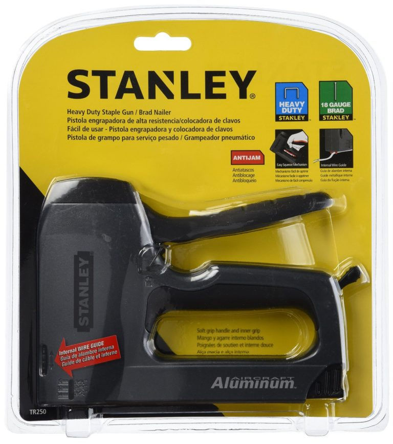 Stanley TR250 SharpShooter Plus Heavy-Duty Staple/Brad Nail Gun