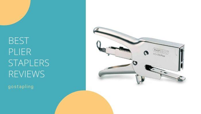 Best plier staplers