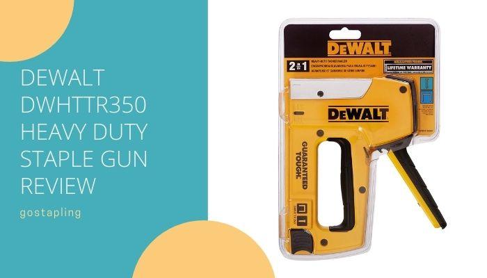 Dewalt DWHTTR350 Heavy Duty Staple Gun