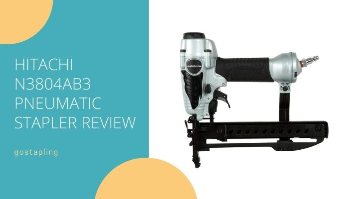 Hitachi N3804AB3 18-Guage Pneumatic Staple Gun
