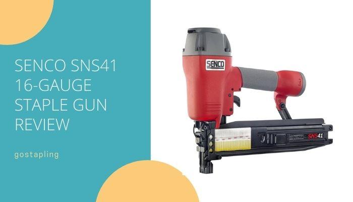 Senco SNS41 16-Gauge Construction Stapler