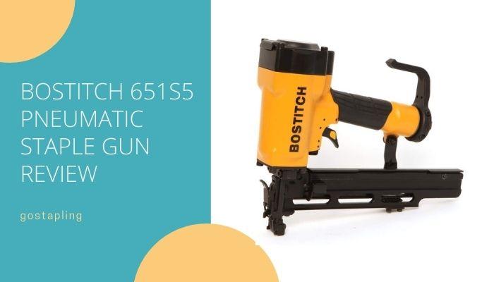 Bostitch 651S5 Pneumatic Staple Gun
